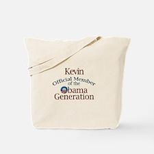Kevin - Obama Generation Tote Bag