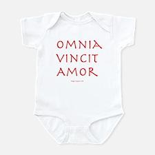 CANE Omnia Vincit Amor Infant Bodysuit