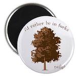 Twilight I'd Rather Be in Forks Magnet