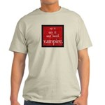 Twilight Say Vampire Light T-Shirt