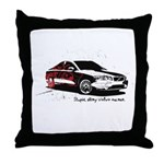 Twilight Stupid Volvo Owner Throw Pillow