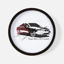 Twilight Stupid Volvo Owner Wall Clock