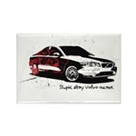 Twilight Stupid Volvo Owner Rectangle Magnet (100
