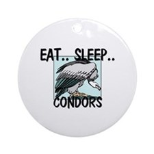 Eat ... Sleep ... CONDORS Ornament (Round)