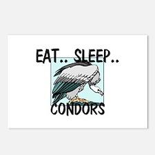 Eat ... Sleep ... CONDORS Postcards (Package of 8)