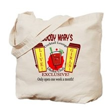 Bloody Mary's Cocktail Lounge Tote Bag