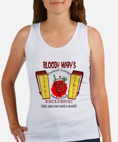 Bloody Mary's Cocktail Lounge Women's Tank Top