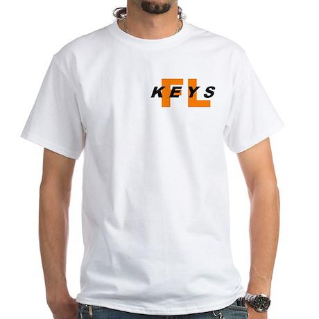KEYS (FLORIDA KEYS) White T-Shirt