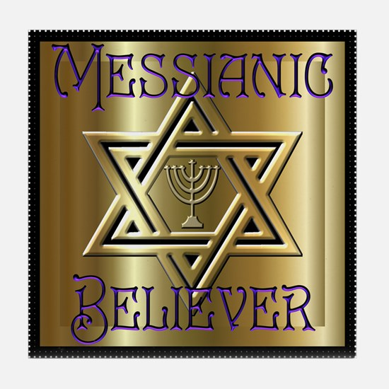 Messianic Believer 2 Tile Coaster