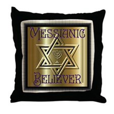 Messianic Believer 2 Throw Pillow