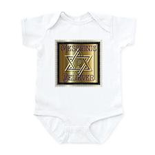 Messianic Believer 2 Infant Creeper