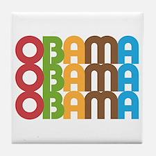 Funny Presidential inauguration 2009 Tile Coaster
