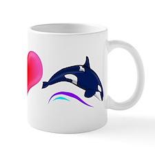 Peace Love Orca Mug