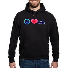 Peace Love Orca Hoodie