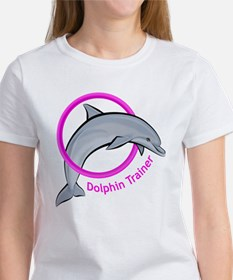 Dolphin Trainer Pink Tee