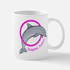 Dolphin Trainer Pink Mug