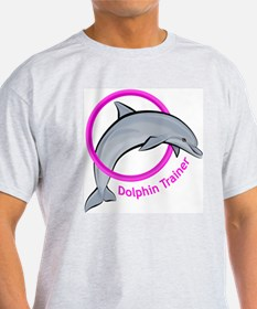 Dolphin Trainer Pink T-Shirt