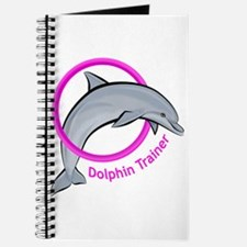 Dolphin Trainer Pink Journal