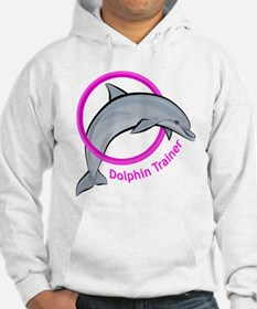 Dolphin Trainer Pink Hoodie