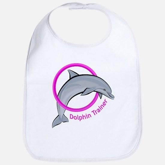 Dolphin Trainer Pink Bib