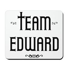 Twilight Team Edward Mousepad