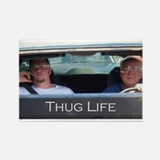 Thug Life Rectangle Magnet
