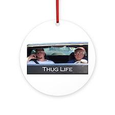 Thug Life Ornament (Round)