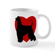 Afghan Hound Valentine's Day Mug
