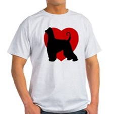 Afghan Hound Valentine's Day T-Shirt