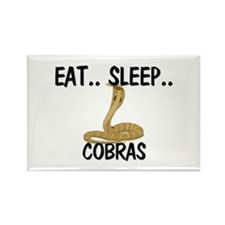 Eat ... Sleep ... COBRAS Rectangle Magnet