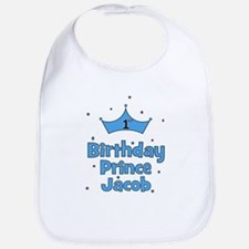 1st Birthday Prince Jacob! Bib