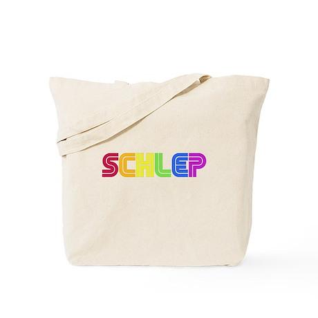 Rainbow Schlep Tote