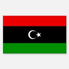 Libya Rectangle Decal