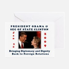 Unique Foreign relations Greeting Card