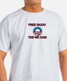 Free Gaza? Yes We Can! T-Shirt