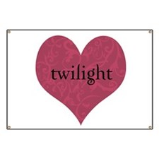 Twilight Gothic Heart Banner