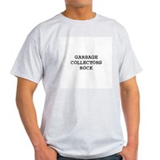 GARBAGE COLLECTORS  ROCK Ash Grey T-Shirt