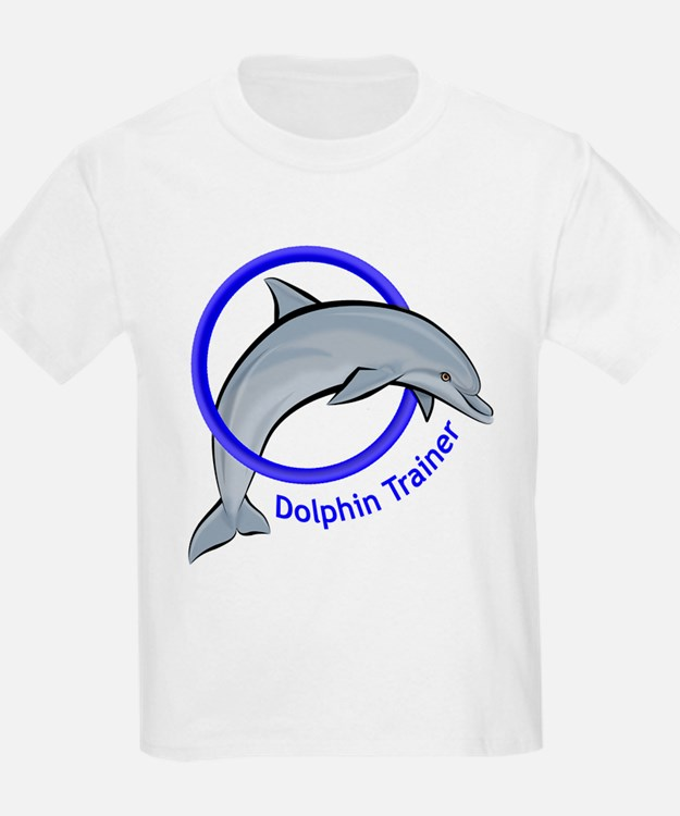 Dolphin Trainer Blue T-Shirt