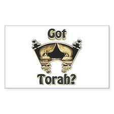 Got Torah? Rectangle Decal