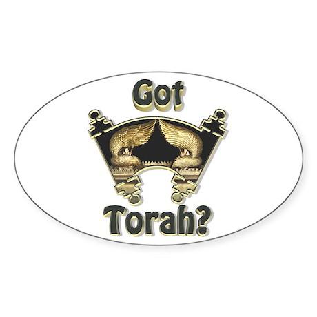 Got Torah? Oval Sticker