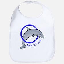 Dolphin Trainer Blue Bib