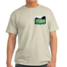 DYCKMAN STREET, MANHATTAN, NYC T-Shirt