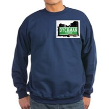 DYCKMAN STREET, MANHATTAN, NYC Sweatshirt