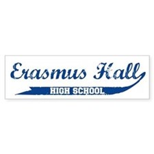 ERASMUS HALL Bumper Bumper Sticker