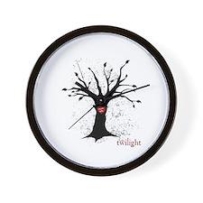 Twilight Edward Bella Tree Wall Clock