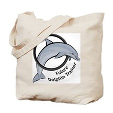 Future Dolphin Trainer Tote Bag