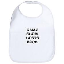 GAME SHOW HOSTS  ROCK Bib
