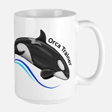 Orca Trainer Large Mug