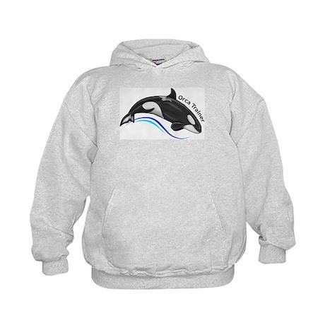 Orca Trainer Kids Hoodie
