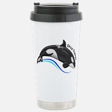Orca Trainer Stainless Steel Travel Mug